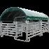 Modulabri avec barrières texas 6M X 5M et bâche de couverture