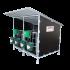 Beiser Environnement - Box à veaux avec toit (double) - Côté