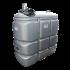 """Beiser Environnement - Station citerne fuel double paroi en plastique PEHD sans odeur, 1500 litres, pompe 24V avec limiteur de remplissage 2"""""""
