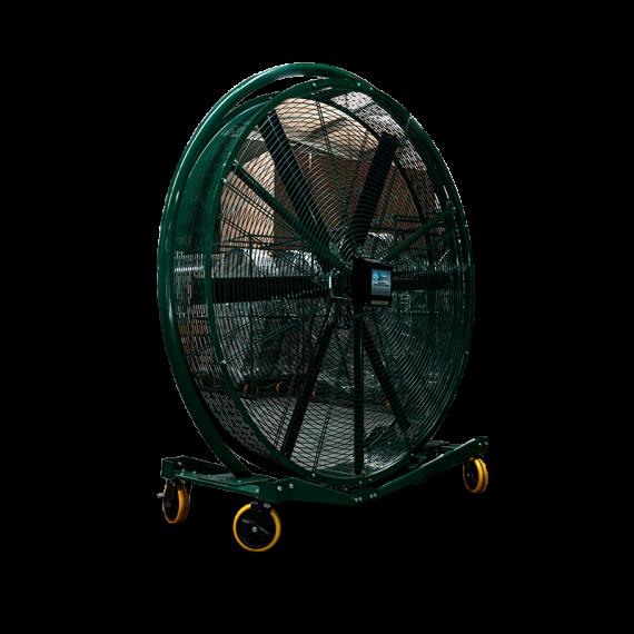 Ventilateur extracteur d'air mobile 2000mm rotatif