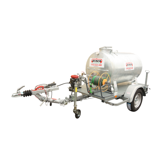 Citerne 1000 litres + pompe et enrouleur sur châssis routier
