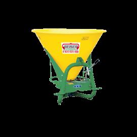 Sandstreuer 350 Liter auf Dreipunktbefestigung