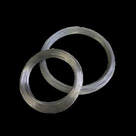 Glatter verzinkter Draht  Ø 2,7 mm, Rolle 111 m (5 kg)