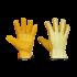 Behandelte wasserdichte Leder-Handschuhe, grosse 10