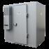 2,63 m3 Kühlraum mit Regalen (-4° / +4°) im Bausatz geliefert