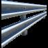 Gebäudeschutzplanken pro laufendem Meter - Satz von 1 runde Planke