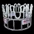 Beiser Environnement - Râtelier arceaux circulaire structure aluminium  - Vue d'ensemble