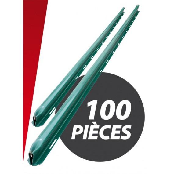 Grüne Omega Pfosten 2 m Länge (Satz 100 Stück)