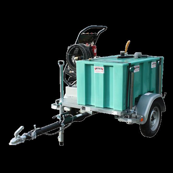 Hochdruckreiniger-Pack 300 l auf Agrargestell 750 kg