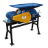 Beiser Environnement - Aplatisseur à céréales - 1800kg/heure sur pied-380V avec 2 rouleaux entrainés - Vue d'ensemble