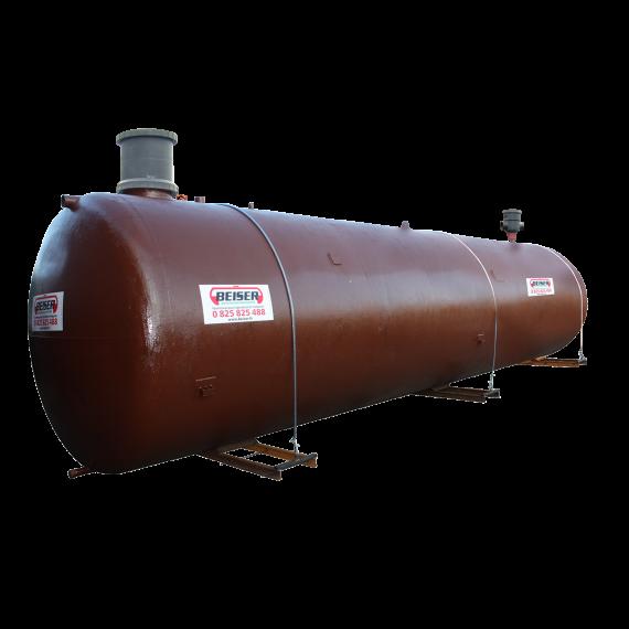 Enkelwandige ondergrondse watertank 10.000 l  (gereconditioneerde)  met pomp