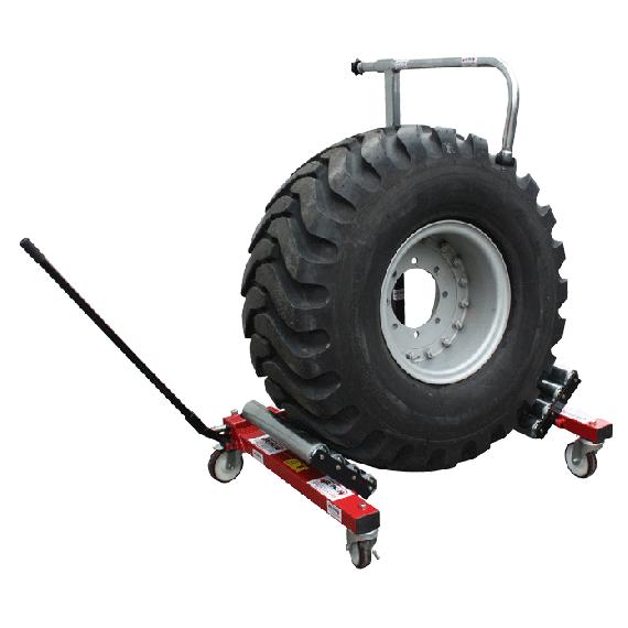 Transportwagentje voor tractorband