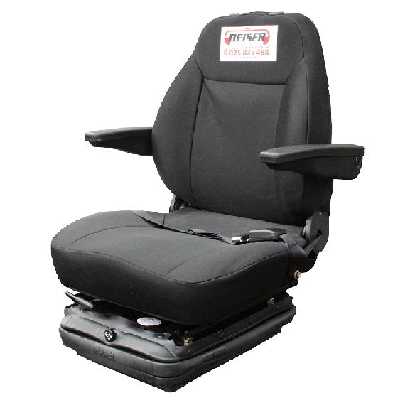 Verstelebare pneumatische zetel