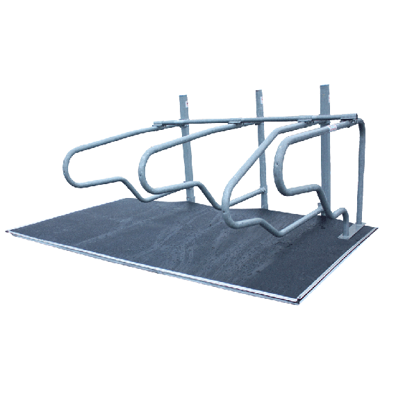 Set matras 50 mm en Rubberen matten 8 mm dik voor stallen (10 stucks)