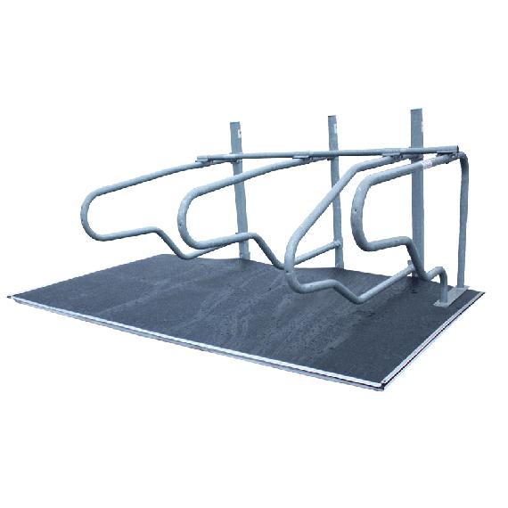Set matras 30 mm en Rubberen matten 8 mm dik voor stallen (20 stucks)