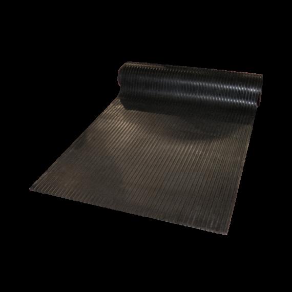 Rubberen matten fluitspelend 20 m x 1,6 m x 6 mm