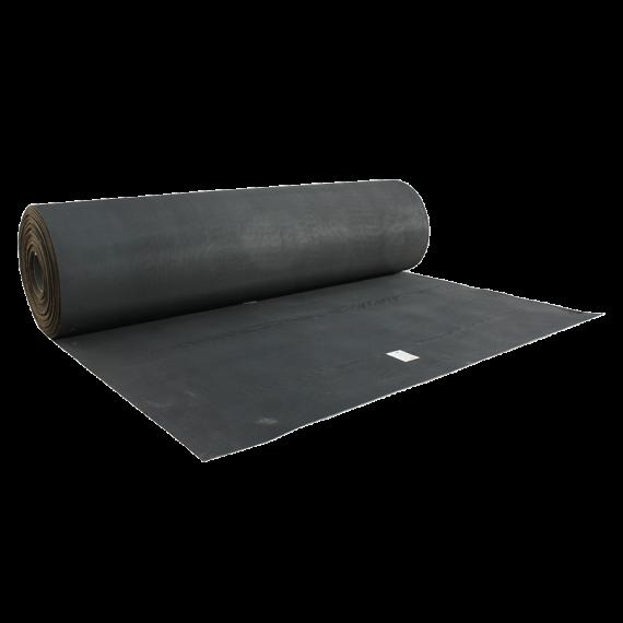 Nieuw rubberen tapijt 2 m breed 4 mm dikte