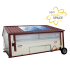 Poule'Lib poulailler bâtiment mobile en kit avec relevage hydraulique 60 m2 - Profil