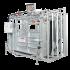 Beiser Environnement - Cage à bovin pneumatique avec réducteur de largeur et porte guillotine - Vue d'ensemble