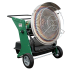 Chauffage diesel radiant sur roues vue de face