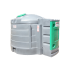 Station fuel verticale double paroi PEHD 5000 litres - Vue d'ensemble