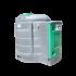 Station fuel verticale double paroi PEHD 2500 litres - Vue d'ensemble