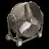 Ventilateur grand volume mobile 700mm - 380V