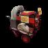 Pompe à incendie sur chariot électrique mobile - Grand modèle