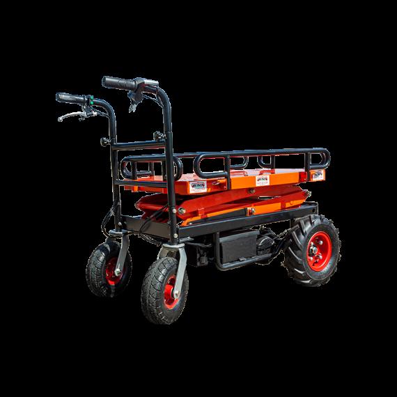 Chariot élévateur électrique mobile 4 roues