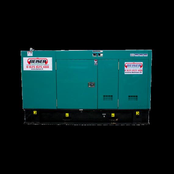 Groupe électrogène diesel silencieux 48 kW / 60 kVA