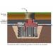 Beiser Environnement - Séparateur hydrocarbure en plastique PEHD avec debourbeur 500 litres - Plan d'installation