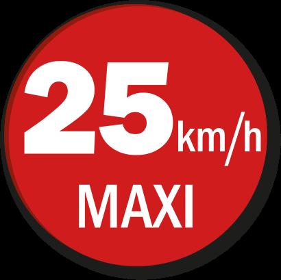 25kmhmaxi